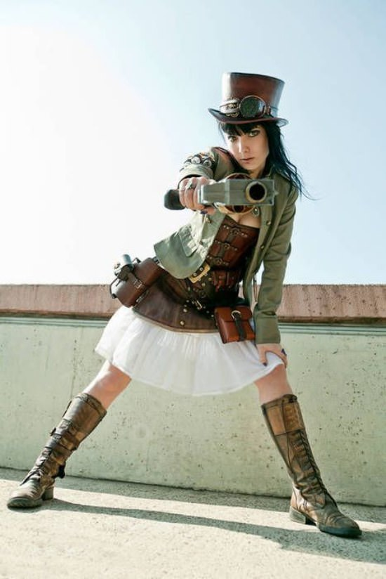 Steampunk Cosplay Girls 14