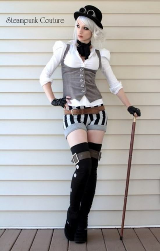Steampunk Cosplay Girls 16