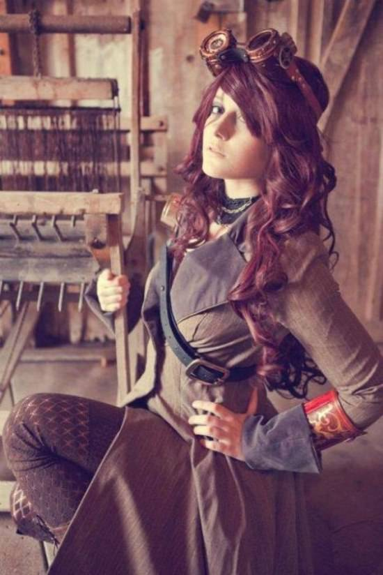 Steampunk Cosplay Girls 2