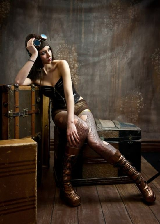 Steampunk Cosplay Girls 21
