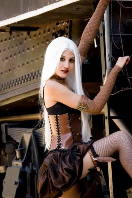 Steampunk Cosplay Girls 22