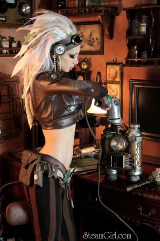Steampunk Cosplay Girls 23