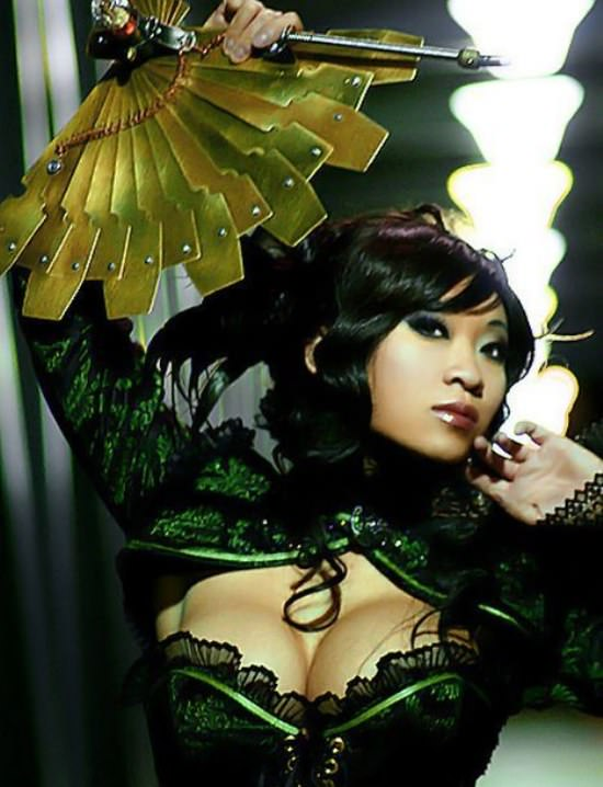 Steampunk Cosplay Girls 24