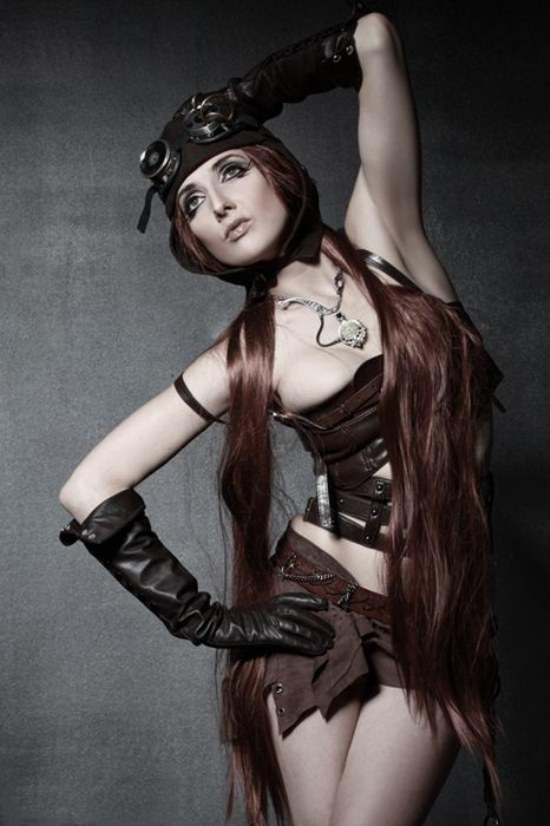 Steampunk Cosplay Girls 28
