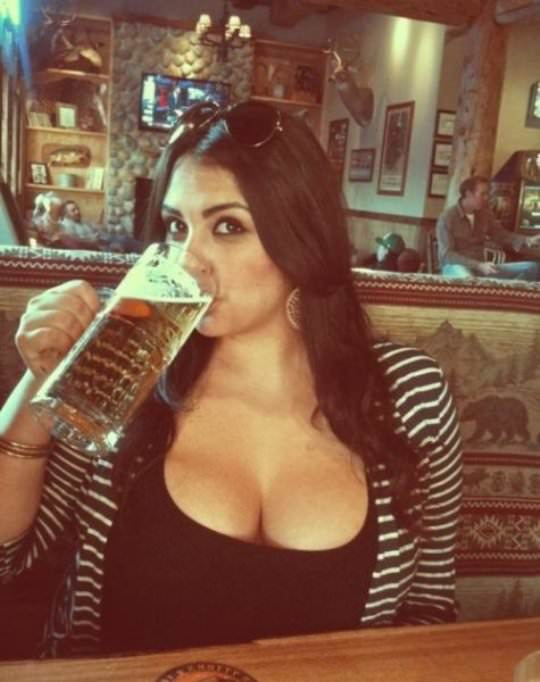Girls who like beer 19