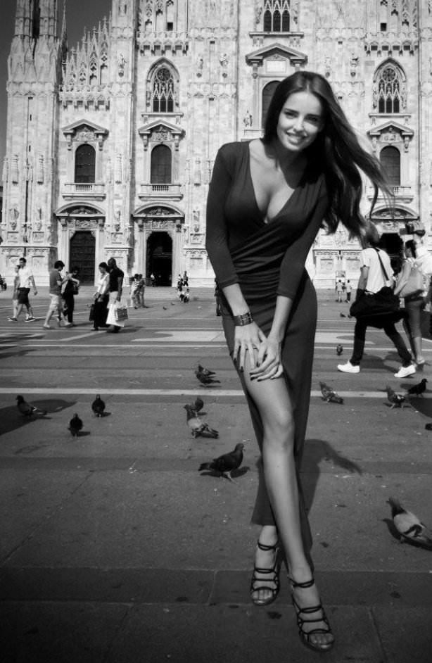 чёрно белое фото женщин