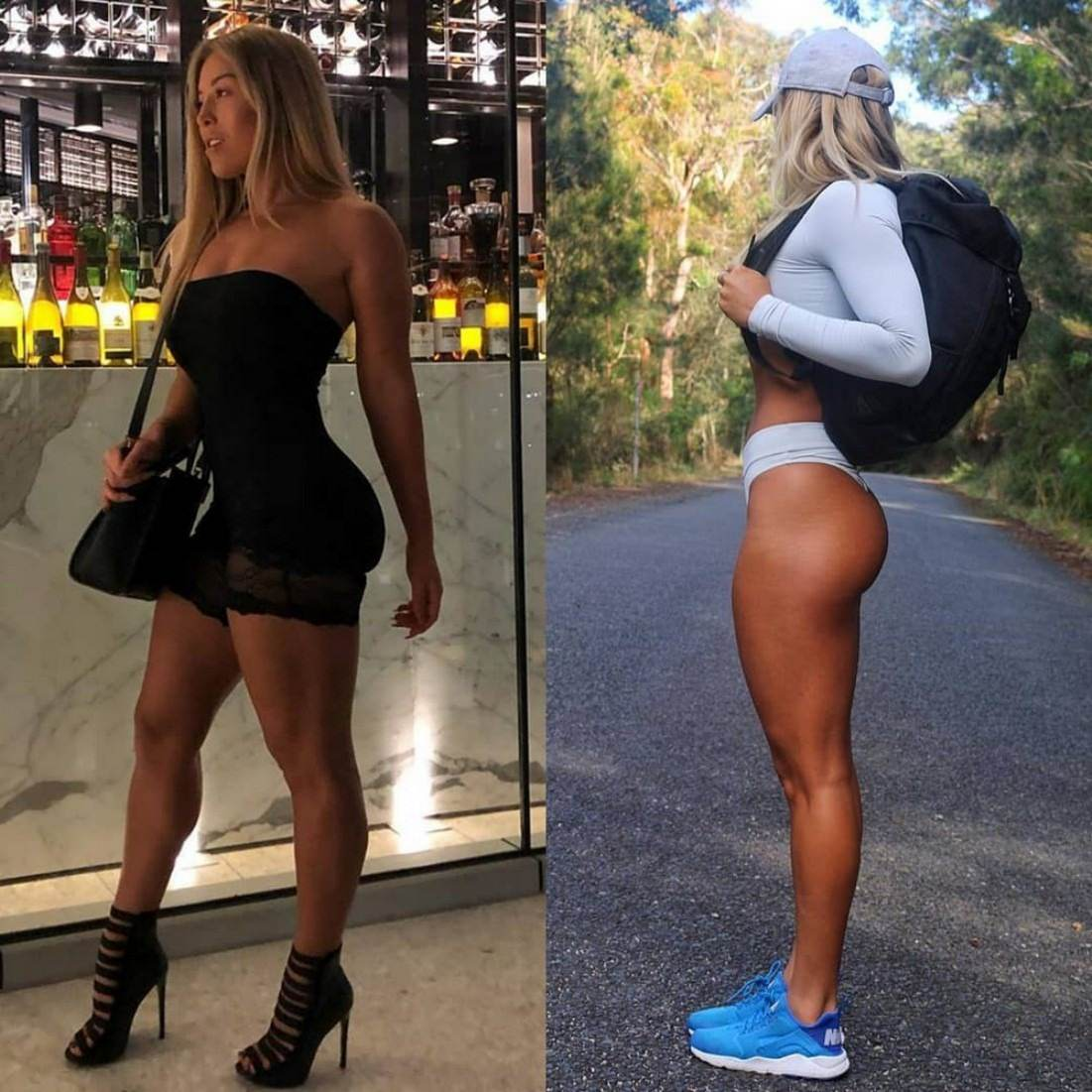 Ladies who stay in shape