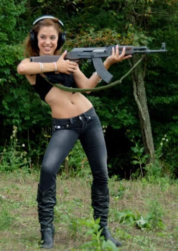 Well Gigi rivera with gun share your