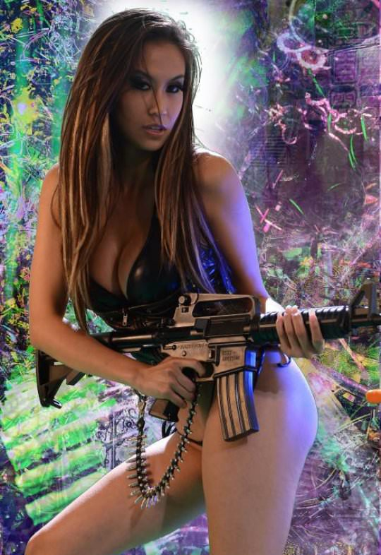 Girls with Guns Picdump 2