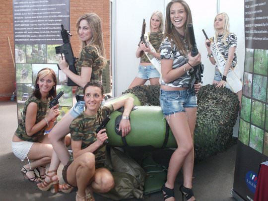 Girls with Guns Picdump 8
