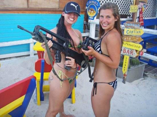 Girls with guns picdump#4  13
