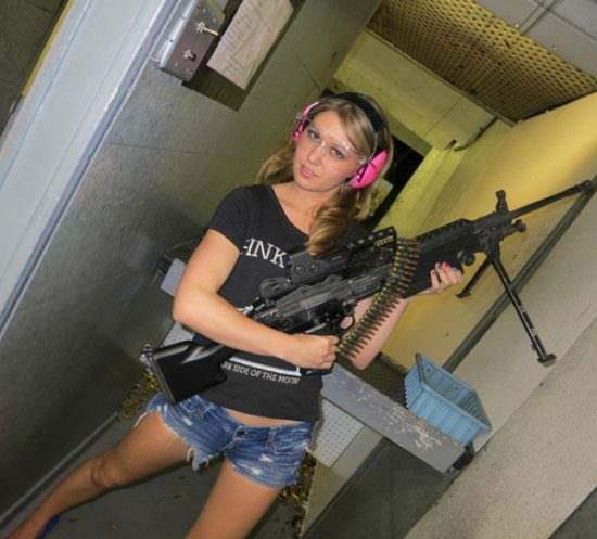 Girls with guns picdump#4  8