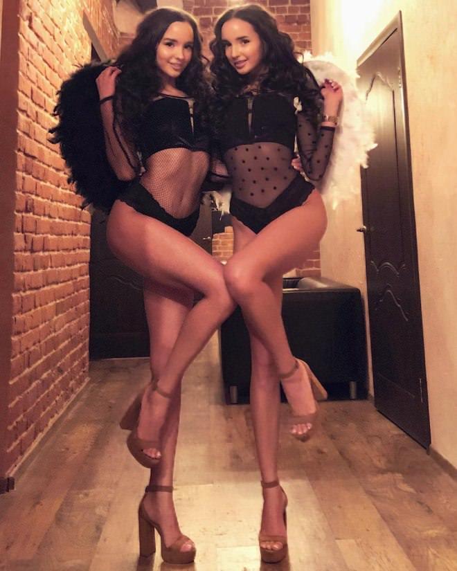 Adelalinka Twins Слитые Фото Вк