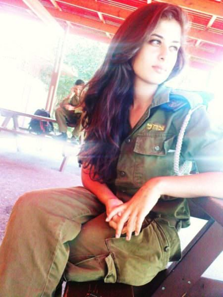 Israeli Defense Female Soldiers 5