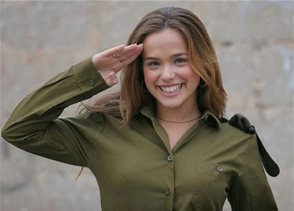 Israeli Defense Female Soldiers 12