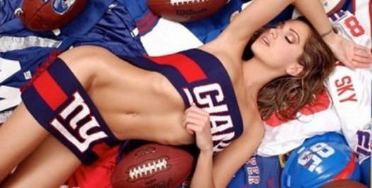 Hottest Giants and Patriots Superbowl Fans 10