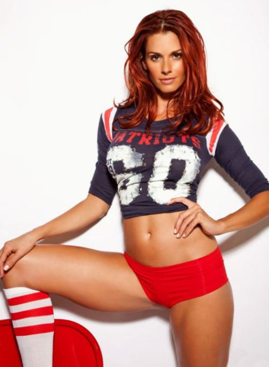 Hottest Giants and Patriots Superbowl Fans 5