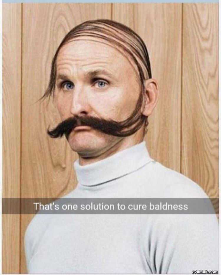 A Solution For Baldness