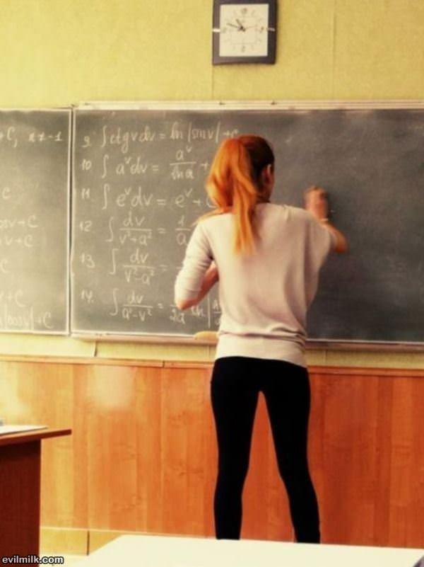 учителка доской фото