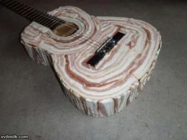 Bacon Guitar