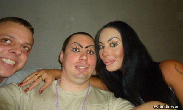 swap makeup
