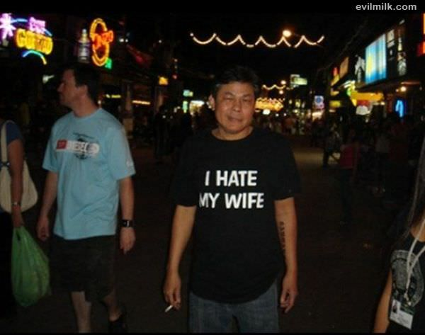 Hate My Wife