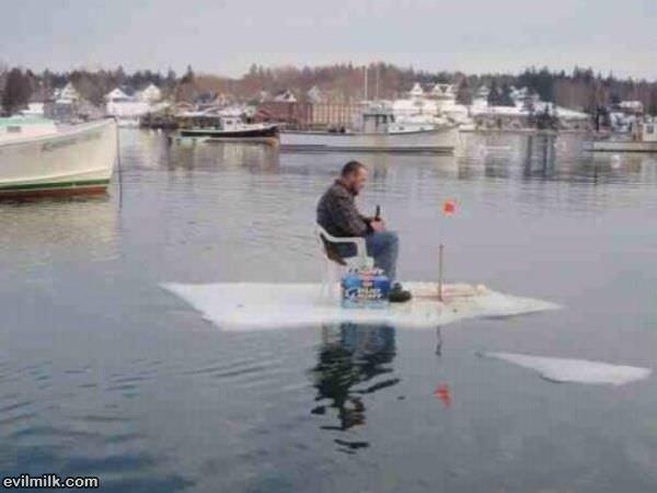 Ice fishing for Maine ice fishing