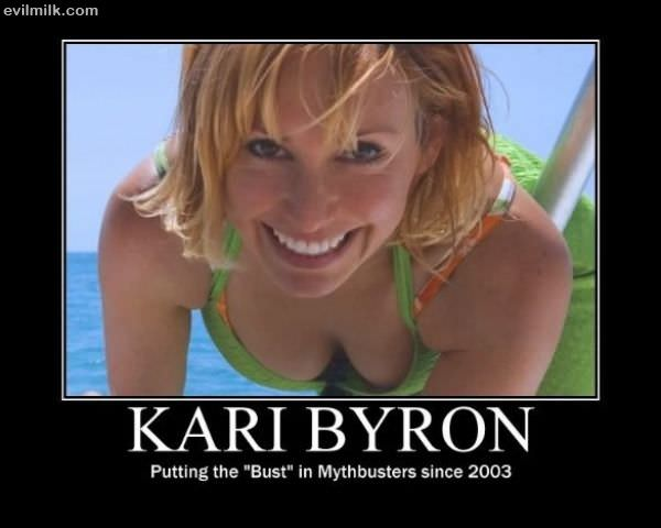 did kari byron do playboy