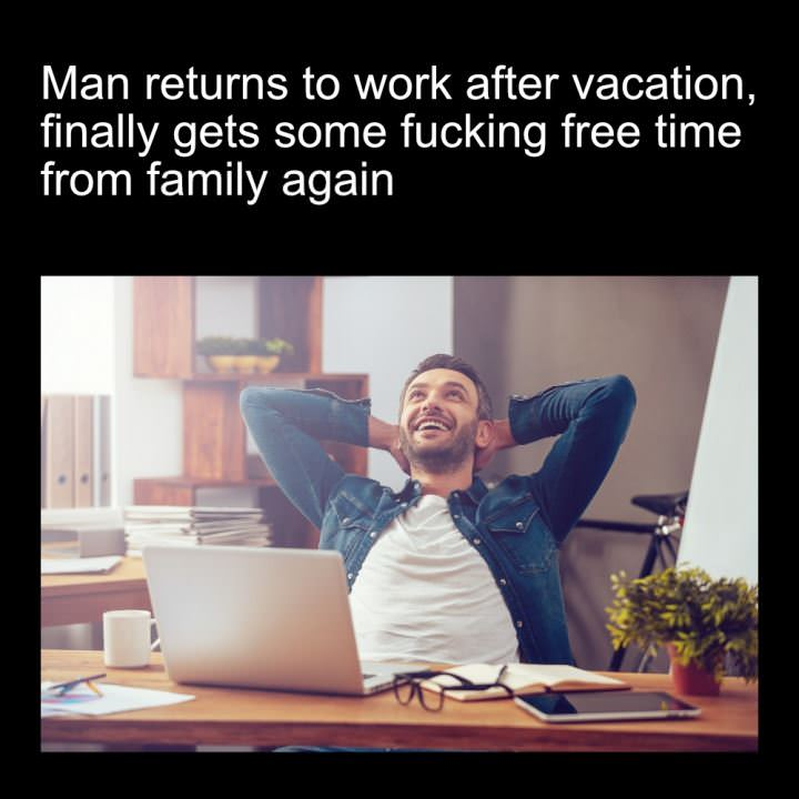 Man Returns To Work