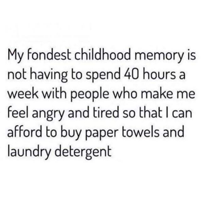 my favorite chilhood memory