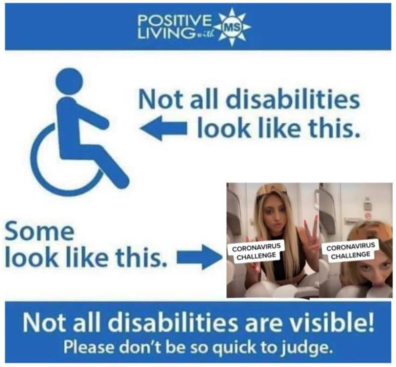 Not All Disabilities