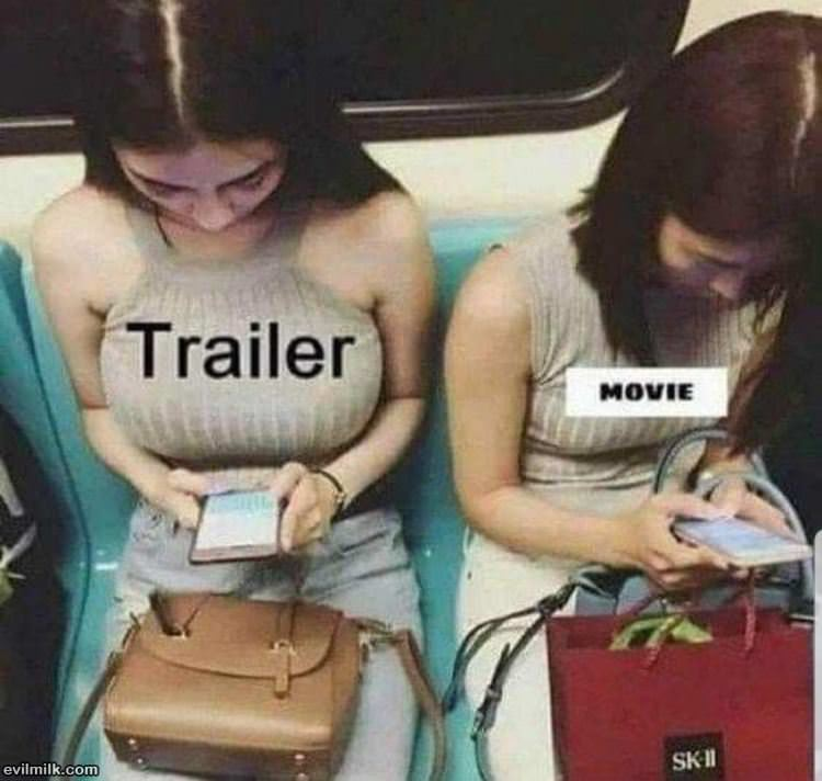 The Trailer And The Movie