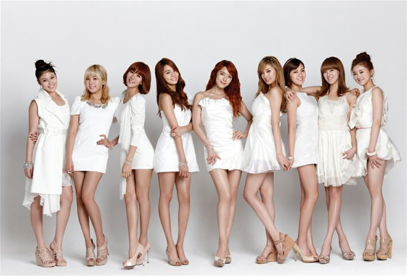 The girls of K Pop 9