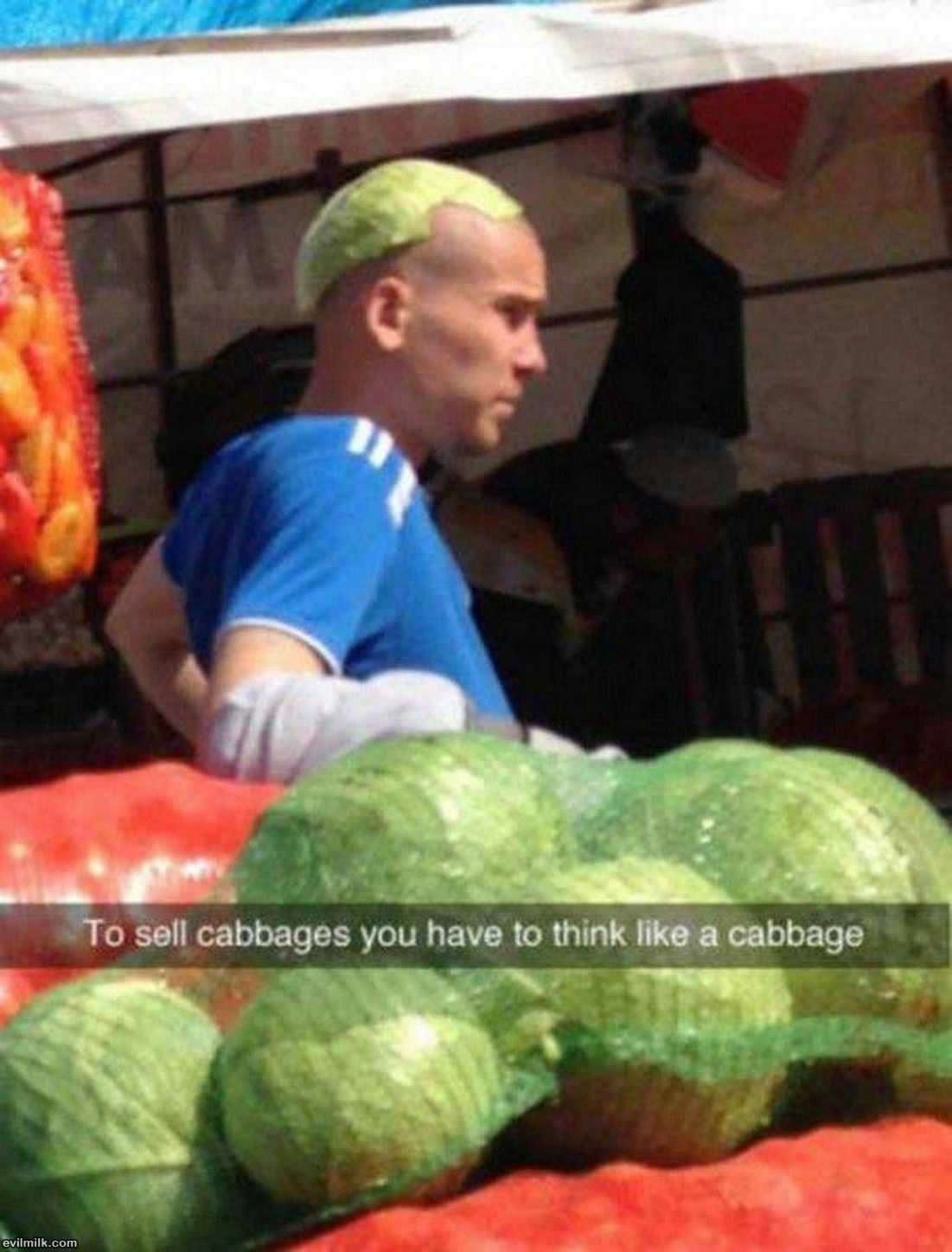 To Sell The Cabbage