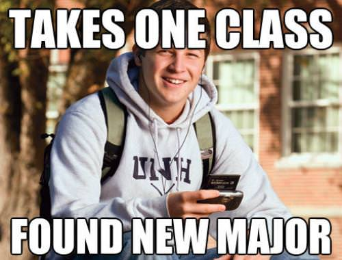 Funny College Freshman Meme Pictures 10