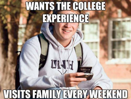 Funny College Freshman Meme Pictures 11
