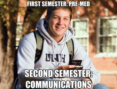 Funny College Freshman Meme Pictures 15