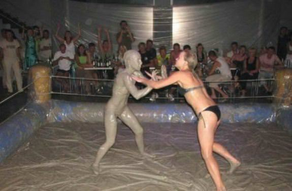 Female Mud Wrestling 12