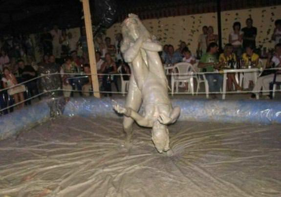Female Mud Wrestling 7