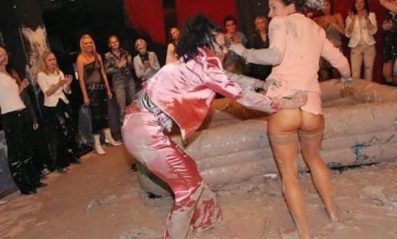 Female Mud Wrestling 8