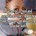 Anonymous Teacher Confessions