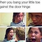 Bang Your Little Toe