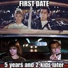 First Date Vs 5 Years Later