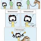 Смешные комиксы,веб-комиксы с юмором и их переводы,день рождения,пони. пони.