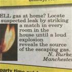 How To Locate A Gas Leak