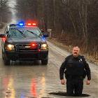 Just A Real Pothole In Michigan