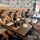 No Cell Phone Discount