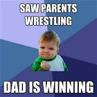 Parents Are Wrestling