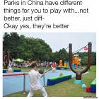 Parks In China