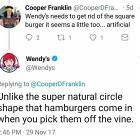 You Win This Round Wendys